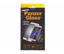 PanzerGlass Premium Screenprotector Samsung Galaxy S7 Edge - White