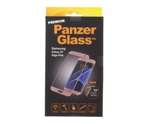 PanzerGlass Premium Screenprotector Samsung Galaxy S7 Edge - Pink