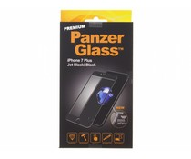PanzerGlass Premium Screenprotector iPhone 7 Plus - Jet Black