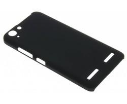 Zwart effen hardcase hoesje Lenovo K5