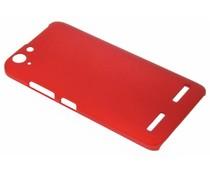 Rood effen hardcase hoesje Lenovo K5