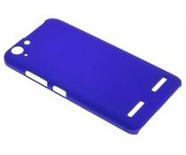 Blauw effen hardcase hoesje Lenovo K5