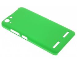 Groen effen hardcase hoesje Lenovo K5