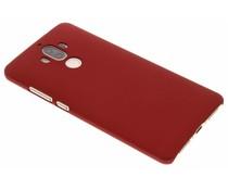 Rood effen hardcase hoesje Huawei Mate 9