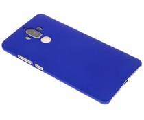 Blauw effen hardcase hoesje Huawei Mate 9