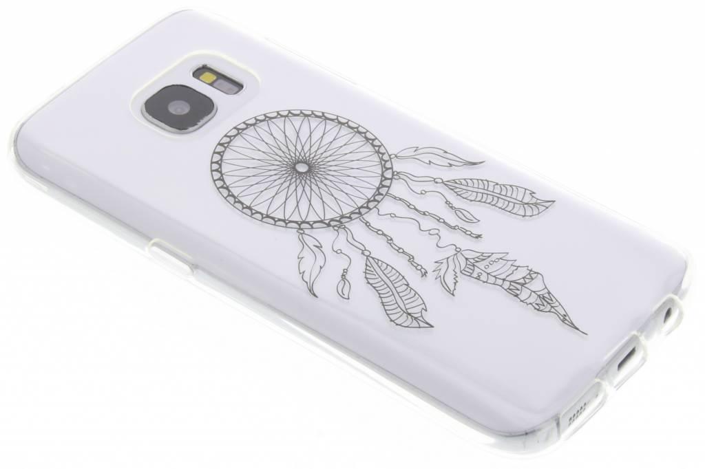 Zwart dromenvanger design TPU hoesje voor de Samsung Galaxy S7
