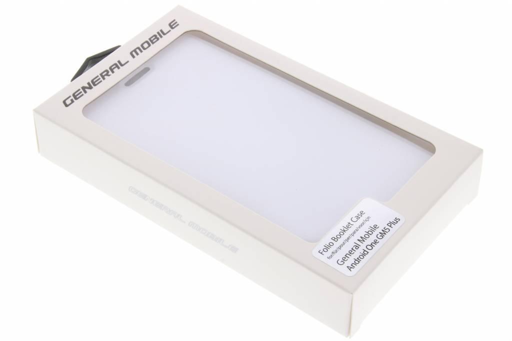 Livret De Cas Folio Pour Le Mobile Général 4g / Gm5 - Blanc B0rakzltf