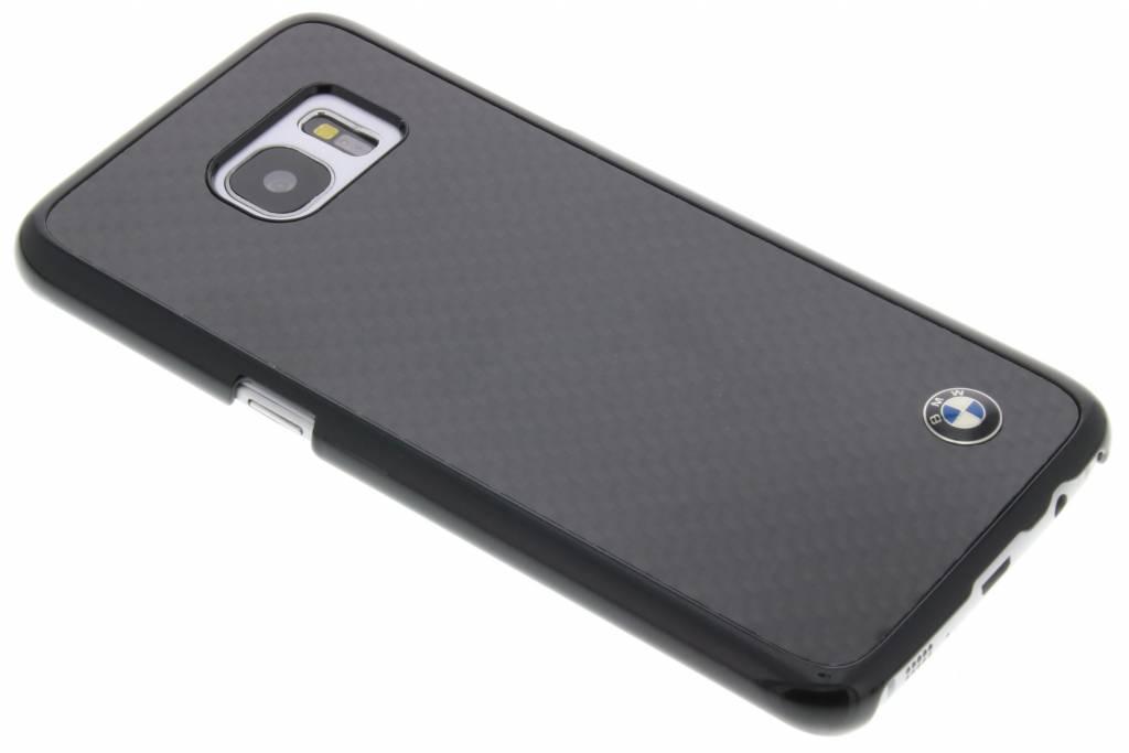 Image of Carbon Effect Hard Case voor de Samsung Galaxy S7 Edge - Zwart