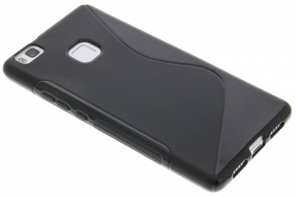 Zwarte S-line TPU hoesje voor de Huawei P9 Lite