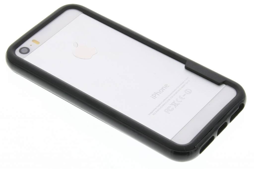 Zwarte bumper voor de iPhone 5 / 5s / SE