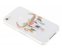 Bull Skull design TPU hoesje iPhone 4 / 4s