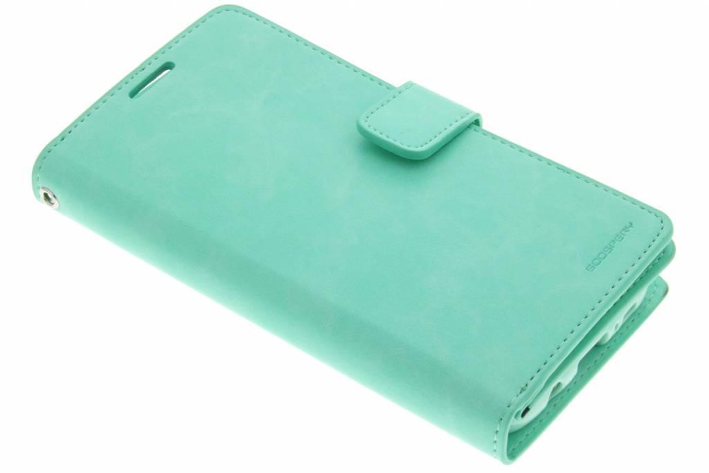Mercury Goospery Mansoor Wallet Diary Case voor de Samsung Galaxy S7 Edge - Groen
