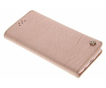 Roze Wallet TPU booktype hoes Samsung Galaxy S7