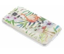 Flamingo design TPU hoesje Samsung Galaxy S5 (Plus) / Neo
