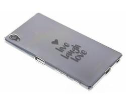Quote design TPU hoesje Sony Xperia Z5 Premium