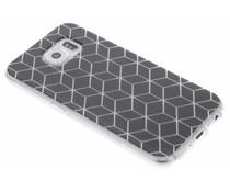 Cubes design TPU hoesje Samsung Galaxy S6