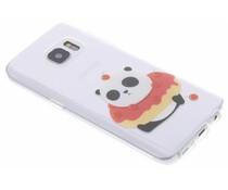Panda design TPU hoesje Samsung Galaxy S7