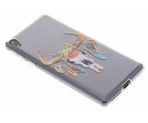 Bull Skull design TPU hoesje Sony Xperia E5