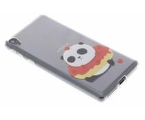 Panda design TPU hoesje Sony Xperia E5