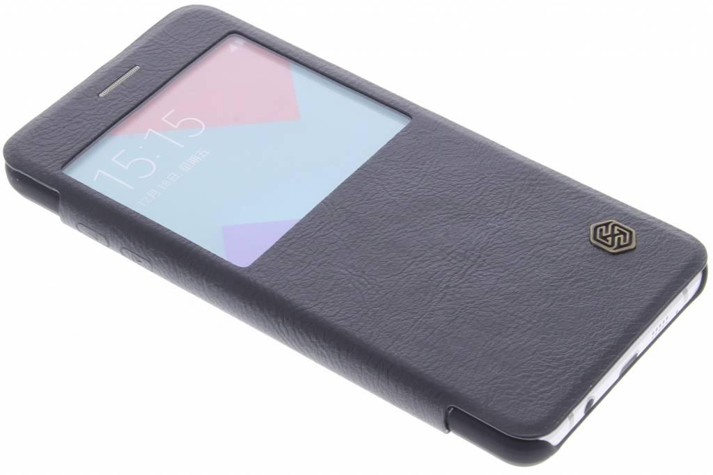 Nillkin Qin Leather Case met venster Samsung Galaxy A5 (2016) - Zwart