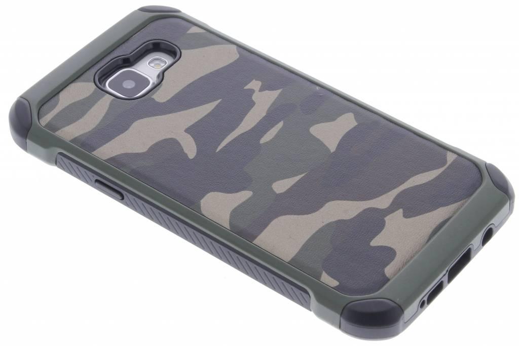 Groen army defender hardcase hoesje voor de Samsung Galaxy A5 (2016)