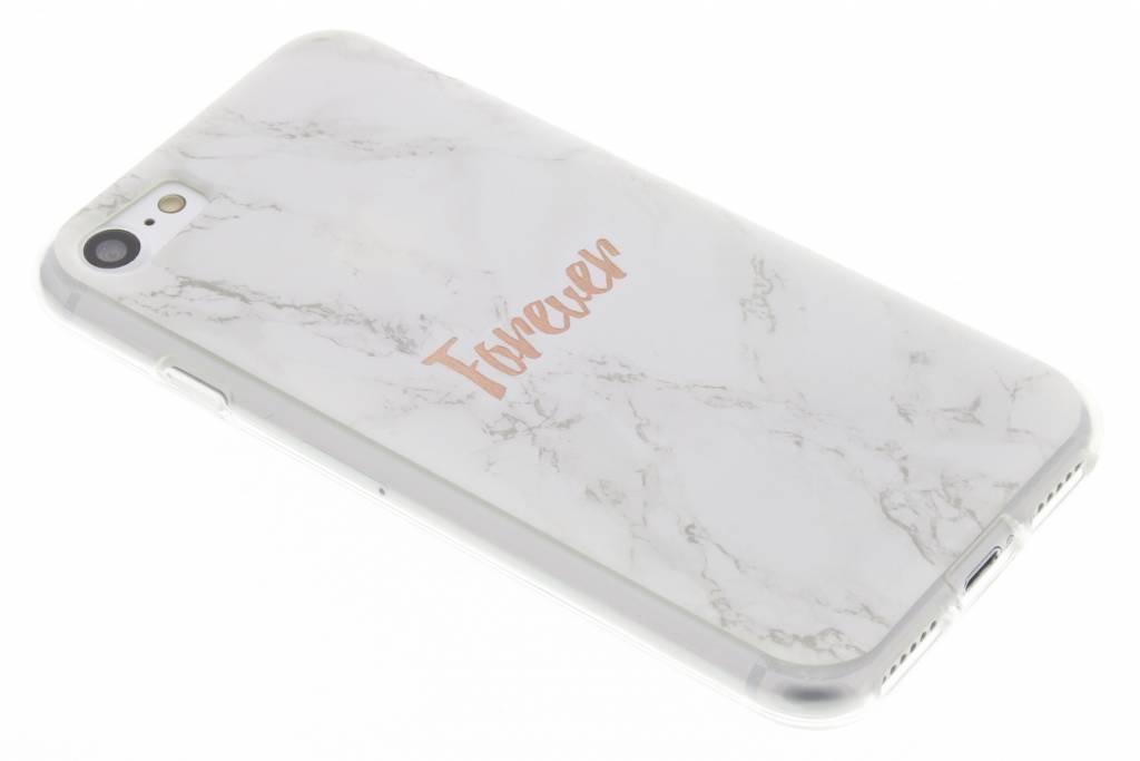 BFF White Marble Love TPU hoesje voor de iPhone 8 / 7