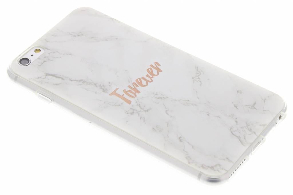 BFF White Marble Love TPU hoesje voor de iPhone 6(s) Plus