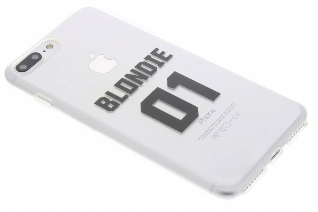 BFF Blondie Love TPU hoesje voor de iPhone 8 Plus / 7 Plus