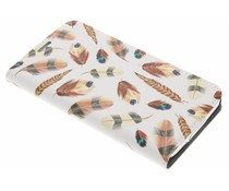 Feathers Design Booklet Samsung Galaxy S5 (Plus) / Neo