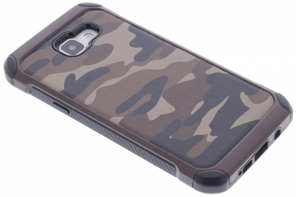 Bruin army defender hardcase hoesje voor de Samsung Galaxy A5 (2016)