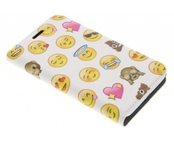Emoji Design Booklet Samsung Galaxy J1 (2016)