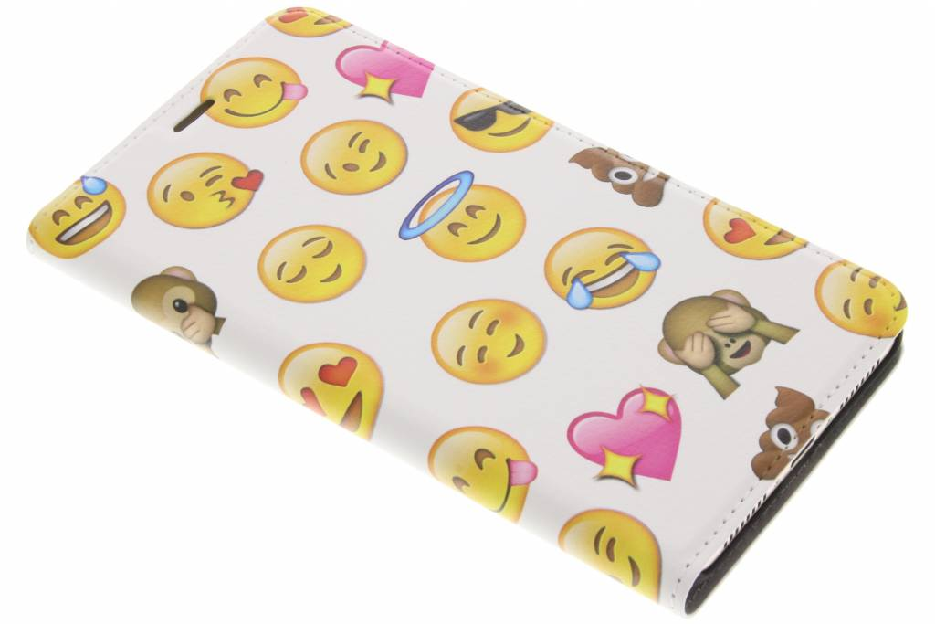 Emoji Smiley Design Booklet voor de Huawei Mate 9