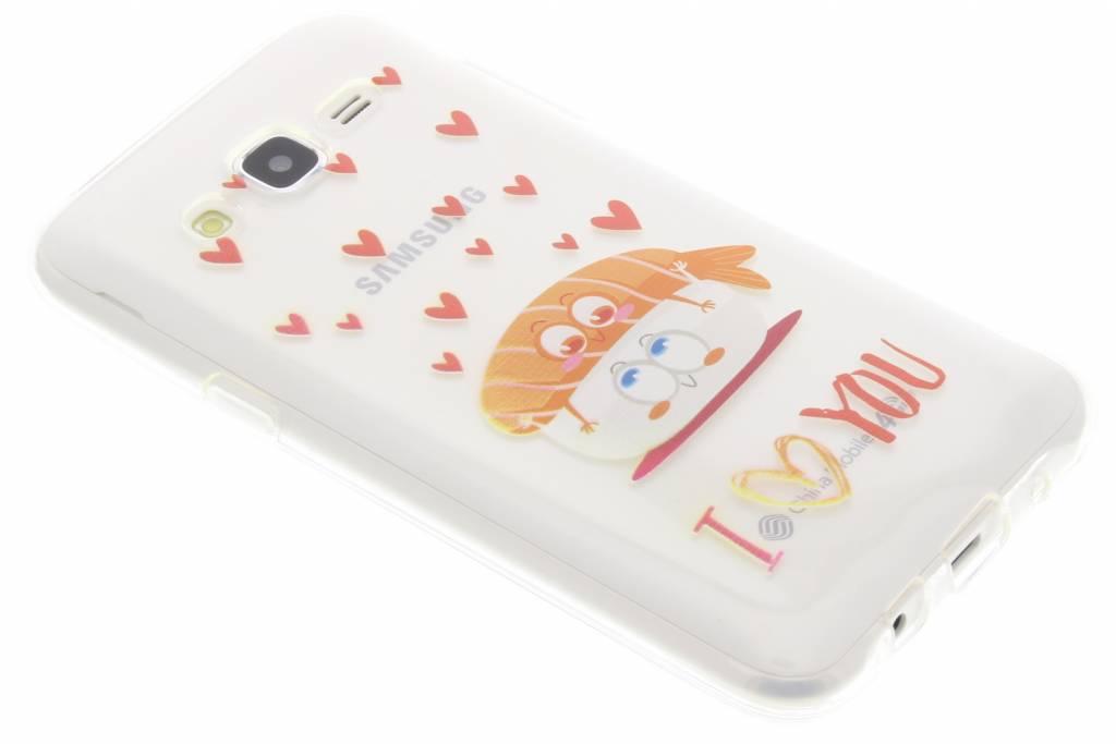 Sushi I Love You Friends TPU hoesje voor de Samsung Galaxy J5
