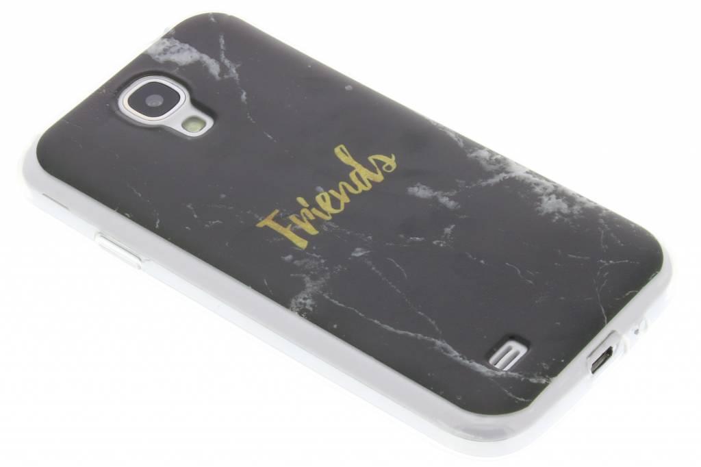 BFF Black Marble Love TPU hoesje voor de Samsung Galaxy S4