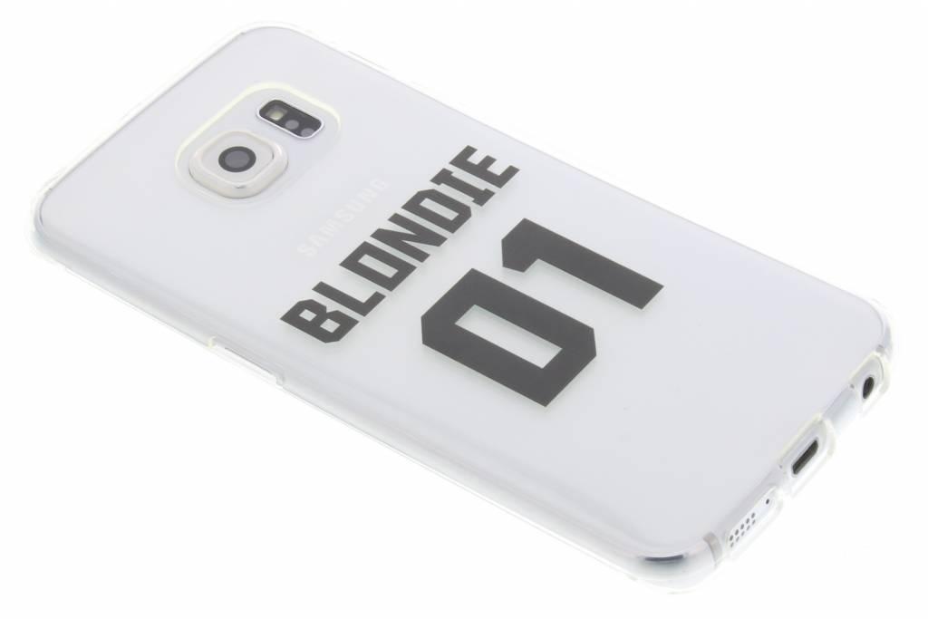 BFF Blondie Love TPU hoesje voor de Samsung Galaxy S6 Edge