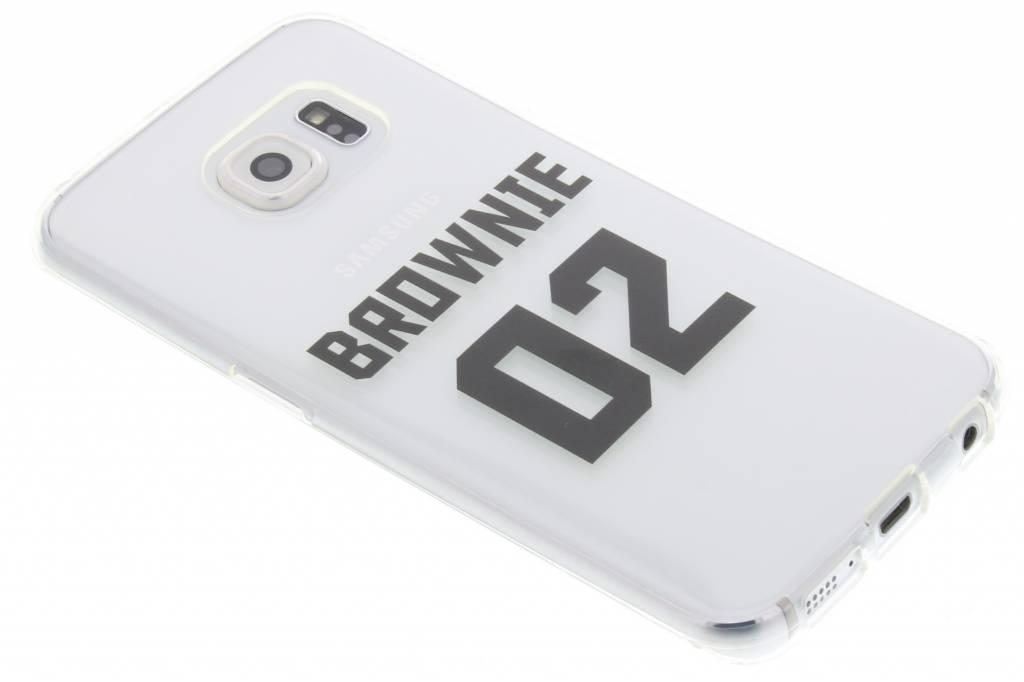 BFF Brownie Love TPU hoesje voor de Samsung Galaxy S6 Edge