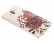 Red Rose TPU hoesje Huawei Mate 9