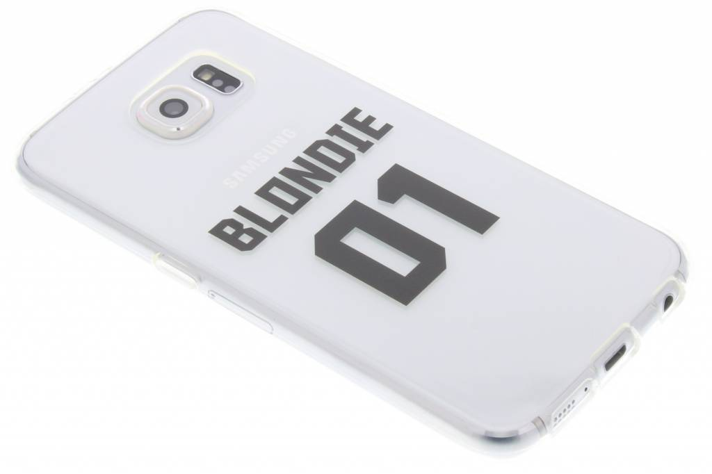 BFF Blondie Love TPU hoesje voor de Samsung Galaxy S6