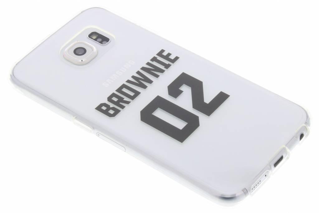 BFF Brownie Love TPU hoesje voor de Samsung Galaxy S6