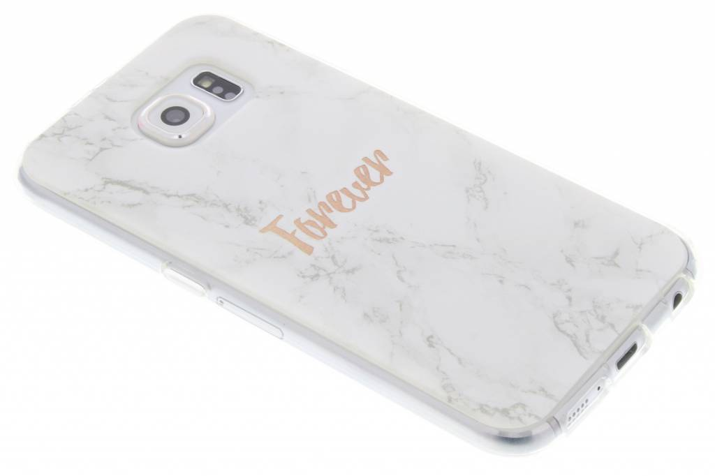 BFF White Marble Love TPU hoesje voor de Samsung Galaxy S6
