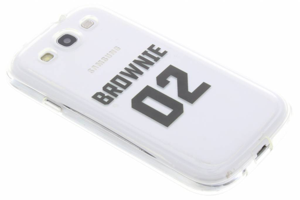 BFF Brownie Love TPU hoesje voor de Samsung Galaxy S3