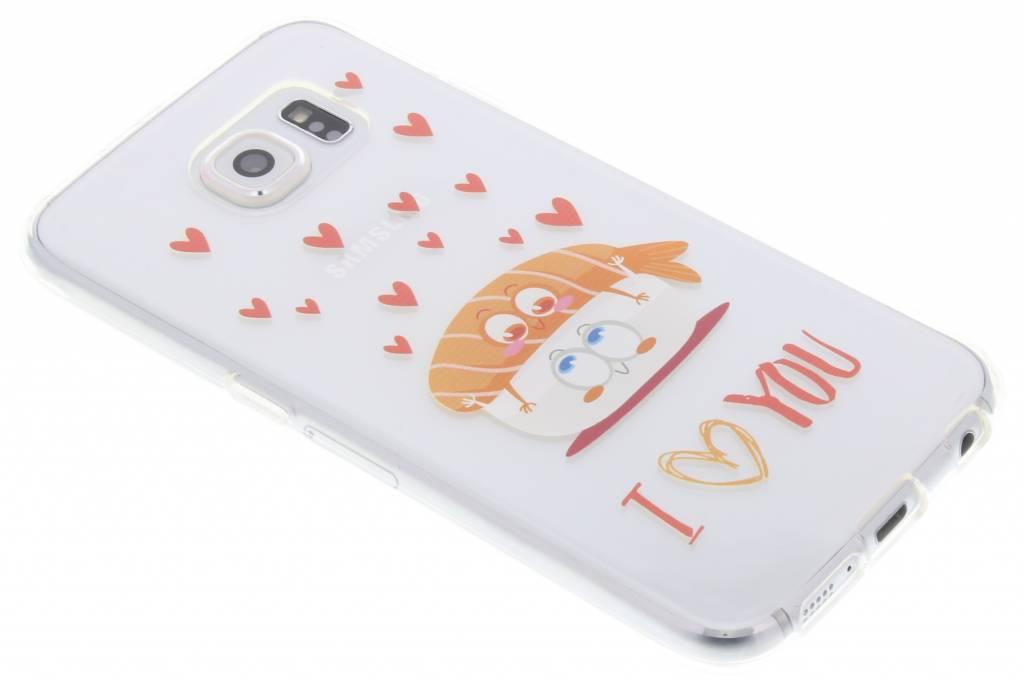 Sushi I Love You Friends TPU hoesje voor de Samsung Galaxy S6