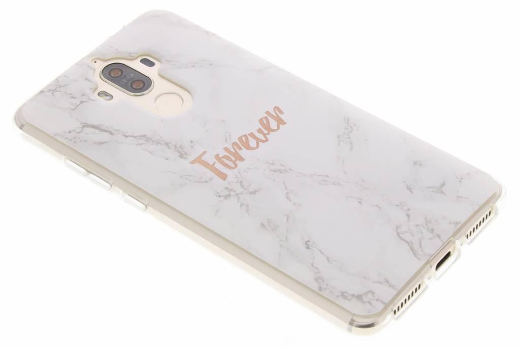 BFF White Marble Love TPU hoesje voor de Huawei Mate 9