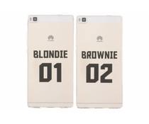 Blondie TPU hoesje Huawei P8