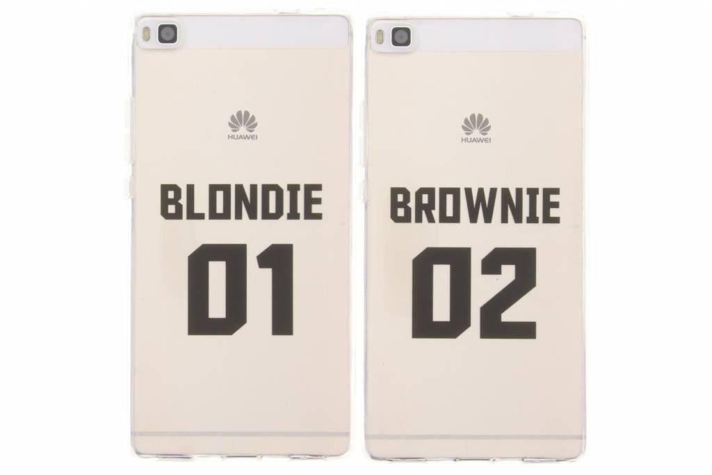 BFF Blondie Love TPU hoesje voor de Huawei P8