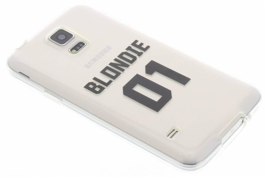 BFF Blondie Love TPU hoesje voor de Samsung Galaxy S5 (Plus) / Neo