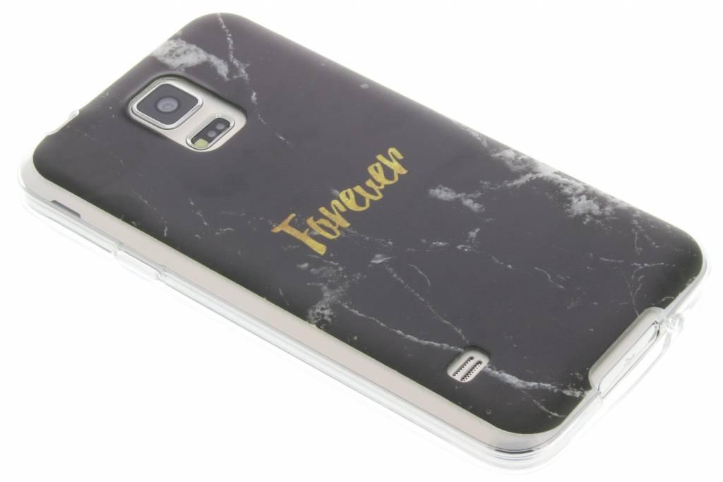 BFF Black Marble Love TPU hoesje voor de Samsung Galaxy S5 (Plus) / Neo