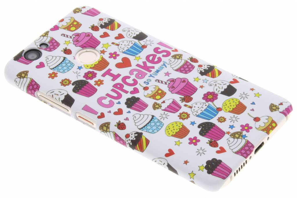 Cupcakes design hardcase hoesje voor de Huawei Nova
