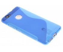 Blauw S-line TPU hoesje Huawei Nova