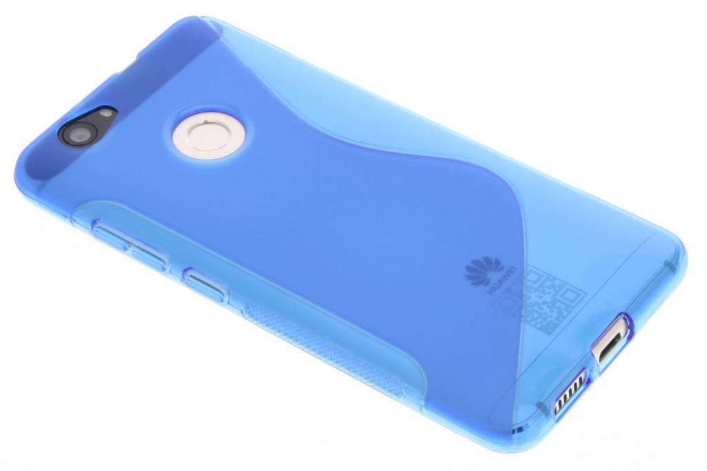 Blauw S-line TPU hoesje voor de Huawei Nova